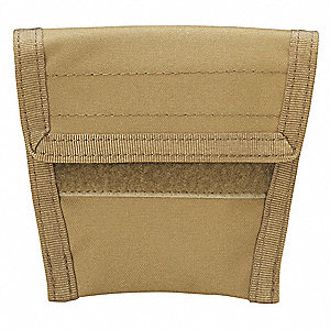Handcuff Pouch, Hook-and-Loop, 500D Nylon, Coyote Tan