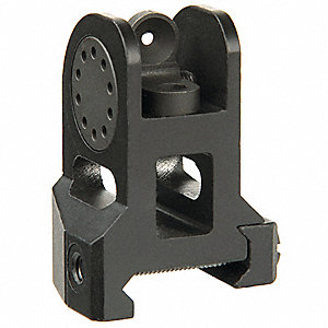 Fixed BUIS,Black,For Use With AR15