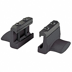 Rail Mounted Thumb Rest, Black
