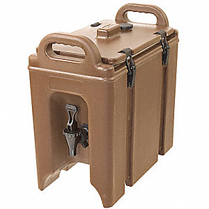 Beverage Dispenser,Brown,2 gal.