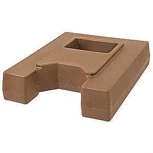 "20"" x 16"" x 5"" Plastic Riser, Brown; For Use With Mfr. No. BEV11.75"