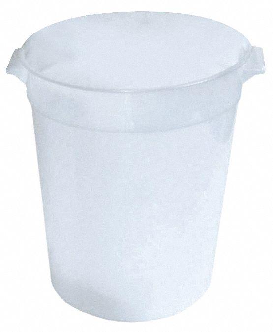 CRESTWARE 9 34 x 8 34 x 8 Plastic Round Storage Container