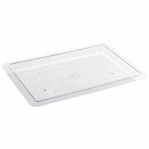Food Box Covers,Clear,1-1/2 in. D