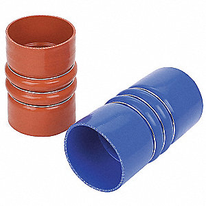 "6"" Charge Air Cooler Hose with 3-1/2"" Inside Dia., Red"