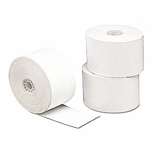 "230 ft. x 3-1/8"" Thermal Paper Roll, For Use With POS Machines; PK10"