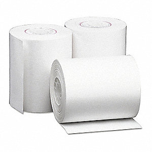 Thermal Paper Roll,80 ft. L,PK50