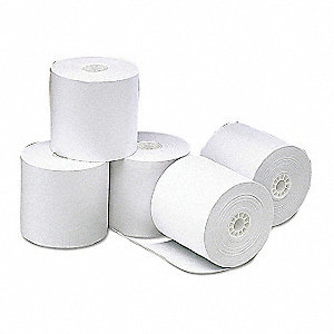 Thermal Paper Roll,273 ft. L,PK50