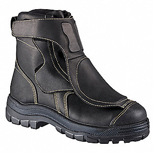 Work Boots, Size 10-1/2, Toe Type: Alloy, PR