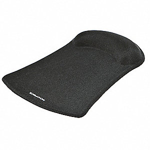 Mouse Pad w/Wrist Support,Black
