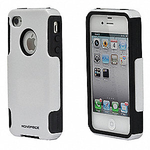 Cell Phone Case, Dual Guard,White