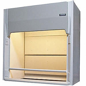 LE Ducted Fume Hood w/Expl Light,48 In.