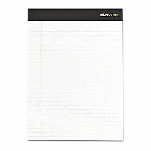 Writing Pad,Legal,White,15 lb.,PK2