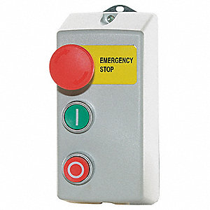 Push Button Control Station, 4NO Contact Form, Number of Operators: 3
