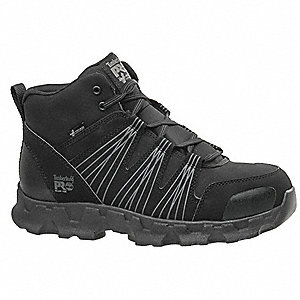 Work Boots,8,W,Men,Lace Up,Black,6inH,PR