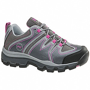 Hiking Shoes,9,W,Women,Lace Up,Gray,PR