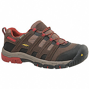 Work Boots,10-1/2,EE,Mens,Brown/Red,PR