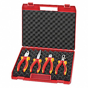 Insulated Plier Set, Number of Pieces: 4