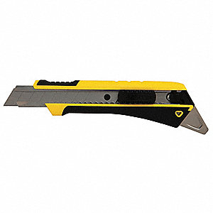 "18mm Snap-Off Utility Knife,7-1/8"" Overall Length,Number of Blades Included: 1"