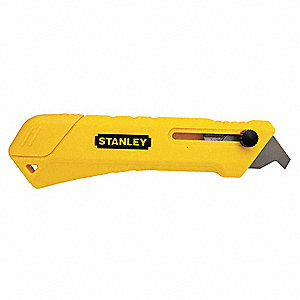 "Yellow,Stainless Steel Laminate Scoring Knife,5-3/4"" Overall Length,Number of Blades Included: 2"