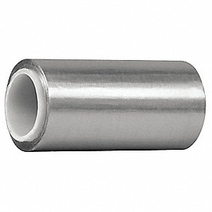 Foil Tape,4 In. x 5 Yd.,Shiny Silver