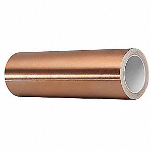 Foil Tape,11-1/2 In. x 6 Yd.,Copper