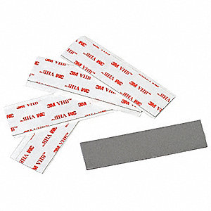 "Acrylic Foam Double Sided VHB Foam Tape, Acrylic Adhesive, 15.00 mil Thick, 3/4"" X 3"", Gray"