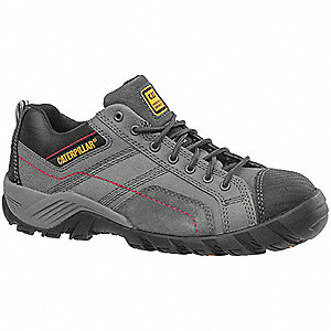 Work Shoes,12,W,Men,Lace Up,Dark Gray,PR