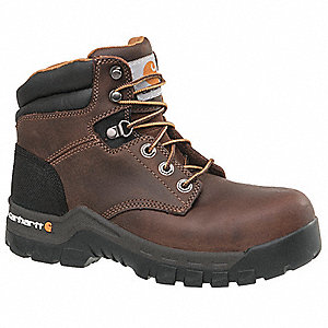 "5""H Women's Work Boots, Composite Toe Type, Brown, Size 6-1/2M/W"