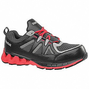 Work Boots,7,M,Men,Lace Up,Black/Red,PR