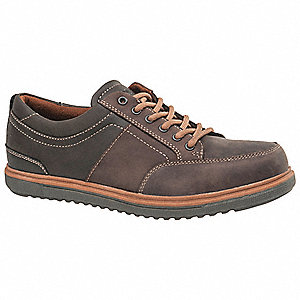 OxfordH Men's Work Boots, Steel Toe Type, Brown, Size 9M