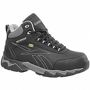 Work Boots,9-1/2,M,Men,Lace Up,Black,PR