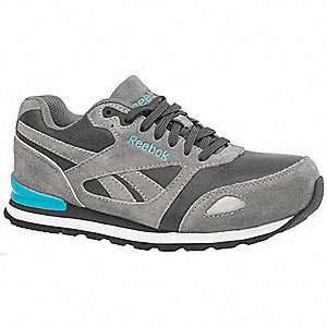 Athletic Work Shoe,12,M,Women,Gray,PR