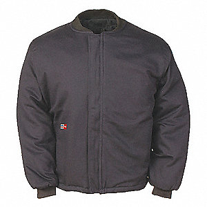 Navy Nomex® Jacket Liner,  5XL,  7 oz.,  Number of Inside Pockets 0,  Number of Outside Pockets 0