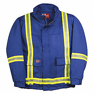 Bomber Jacket Shell,Blue,4XLT