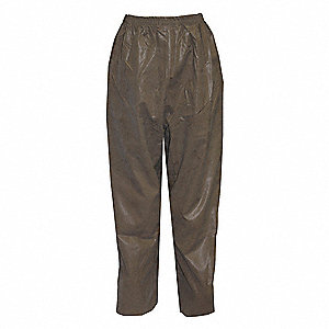 FR Rain Pants,XL,Drab,31 in. Inseam