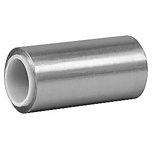 Foil Tape with Liner,6In. x 5 Yd.,Silver