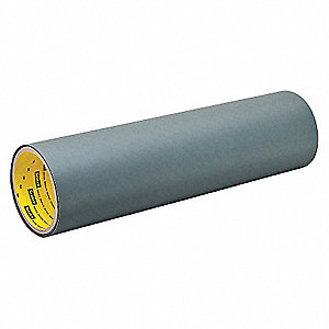 "Black/Brown Self Adhesive Bumper, Roll Shape, 4-1/2"" Width, 1 ft. Length"