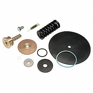 Repair Kit, Rubber, Stainless Steel, Iron, Chrome, Brass