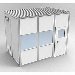 Clnrm Modular In-Plant Office,8x12x10ft