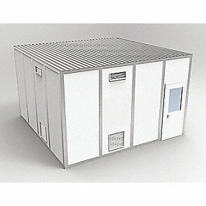 Clnrm Modular In-Plant Office,16x16x10ft