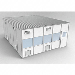 Clnrm Modular In-Plant Office,20x24x10ft