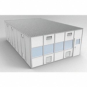 Clnrm Modular In-Plant Office,20x32x10ft