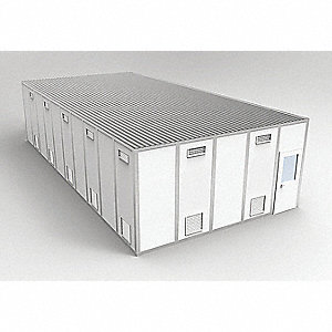 Clnrm Modular In-Plant Office,20x40x10ft