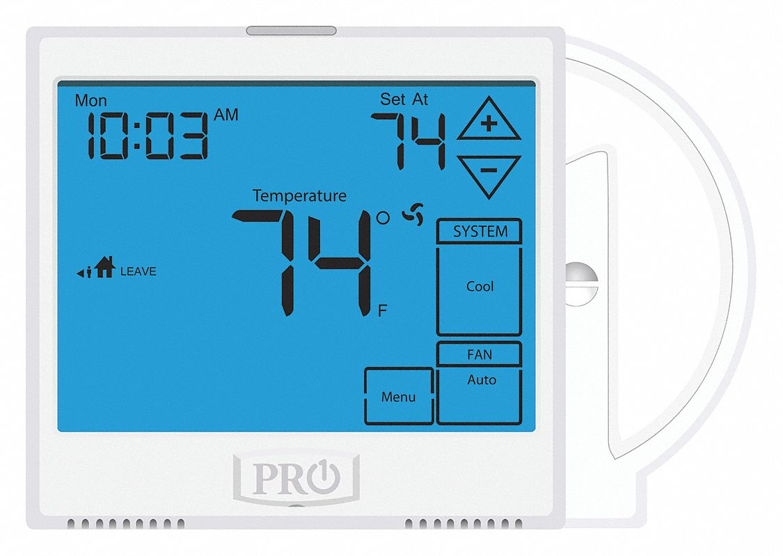 Pro1 Iaq Low Voltage Thermostat  Stages Cool 2  Stages