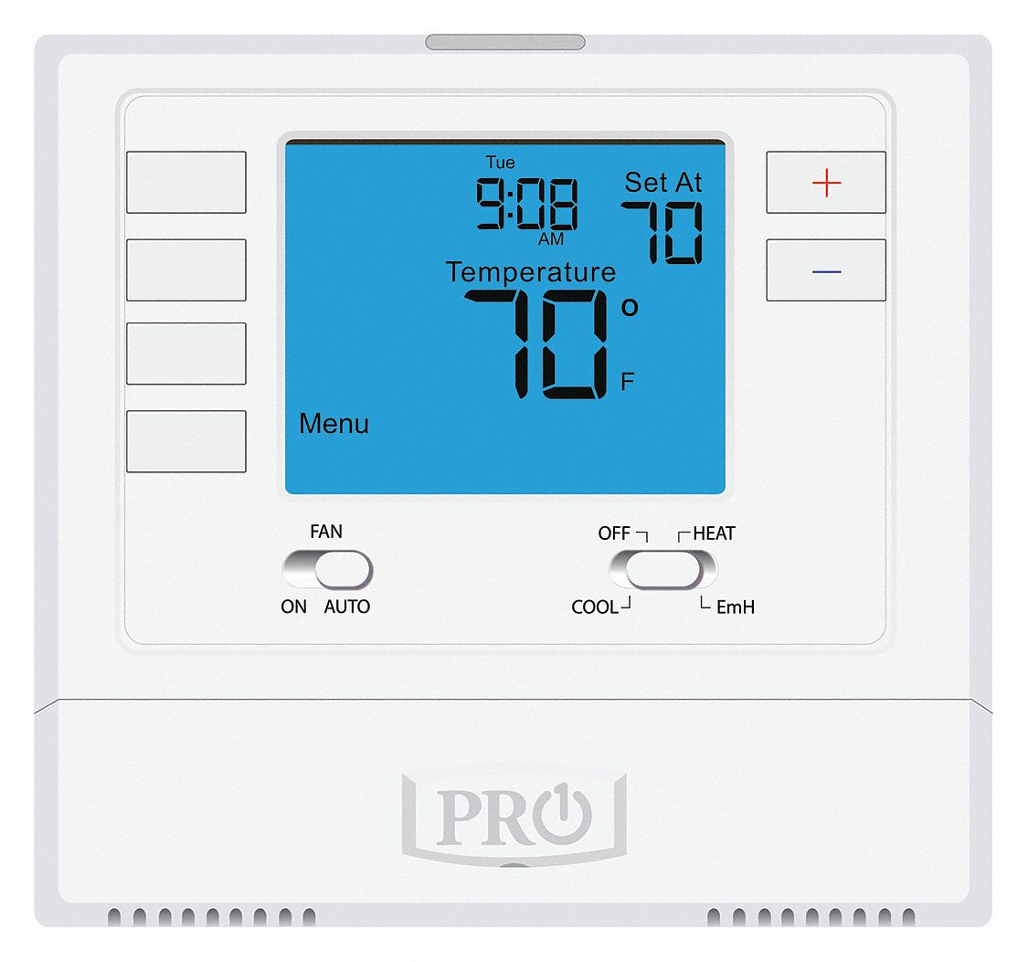 Pro1 Iaq Low Voltage Thermostat  Stages Cool 1  Stages