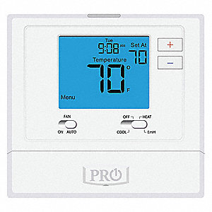 Low Voltage Thermostat,Heat Pump,Auto-O