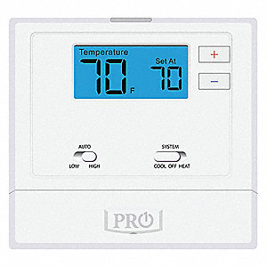 Low Voltage Thermostat,Wired PTAC