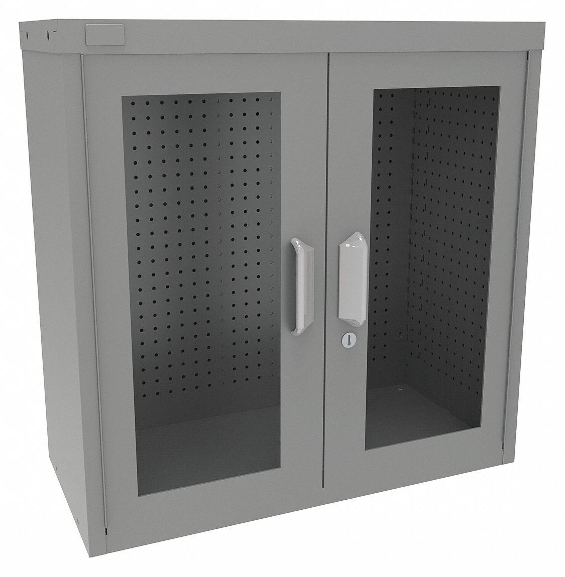 Pegboard Storage Cabinets