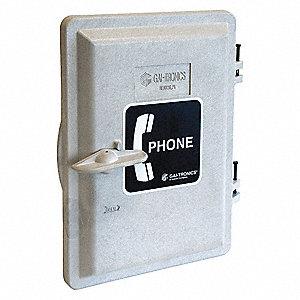 Weatherproof Phone Enclosure Door Kit  Gray  sc 1 st  Grainger & HUBBELL GAI-TRONICS Weatherproof Phone Enclosure Door Kit  Gray ...