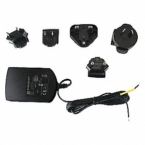 Plastic Power supply, Black; For Industrial Telephones